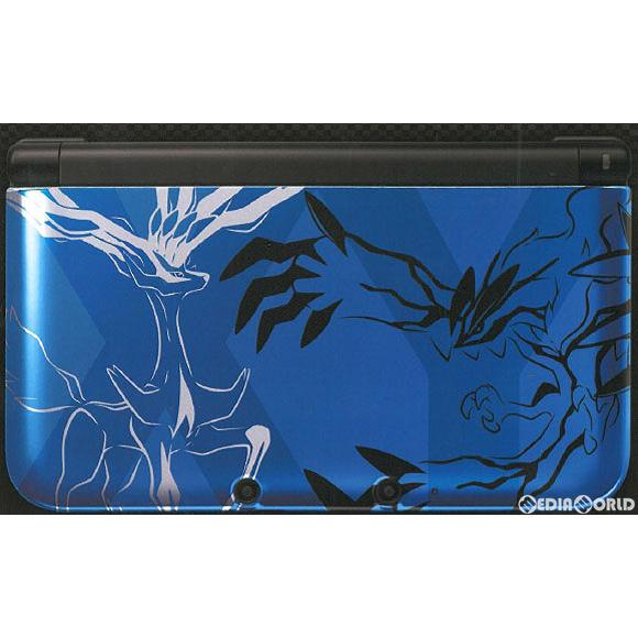 【中古】[本体][3DS]ニンテンドー3DSLL ポケットモンスターXパック ゼルネアス・イベルタル ブルー(SPR-S-BMDS(JPN))(20131012)