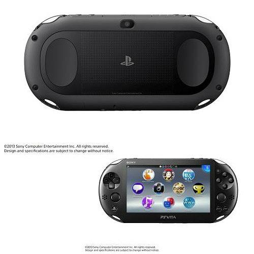 【新品即納】[本体][PSVita]PlayStationVita Wi-Fiモデル ブラック(PCH-2000ZA11)(20131010)