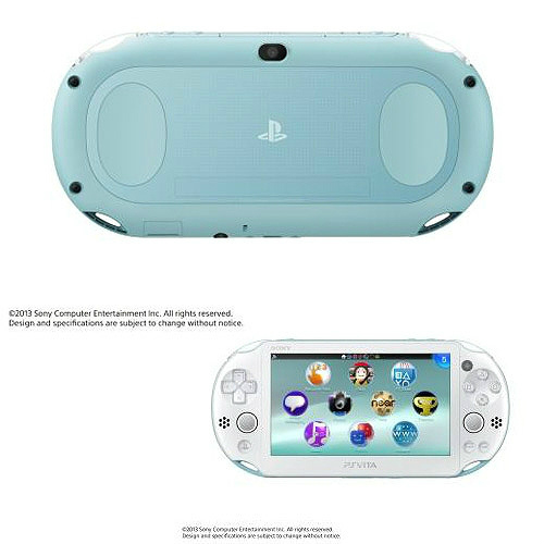 【中古】[本体][PSVita]PlayStationVita Wi-Fiモデル ライトブルー/ホワイト(PCH-2000ZA14)(20131010)