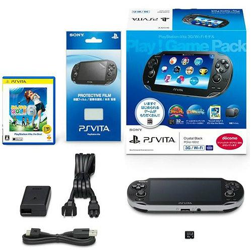 【中古】【B品】[本体][PSVita]PlayStation Vita 3G/Wi-Fiモデル Play!Game Pack(プレイゲームパック)(PCHJ-10012)(20131031)