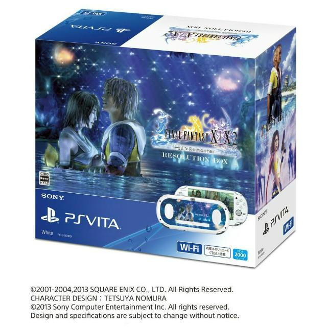 【中古】[本体][PSVita]PSVita FINAL FANTASY X/X-2 HD Remaster RESOLUTION BOX(PCHJ-10009)(20131226)