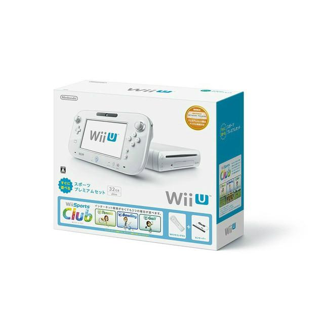 Nintendo Wii U スポーツプレミアムセット