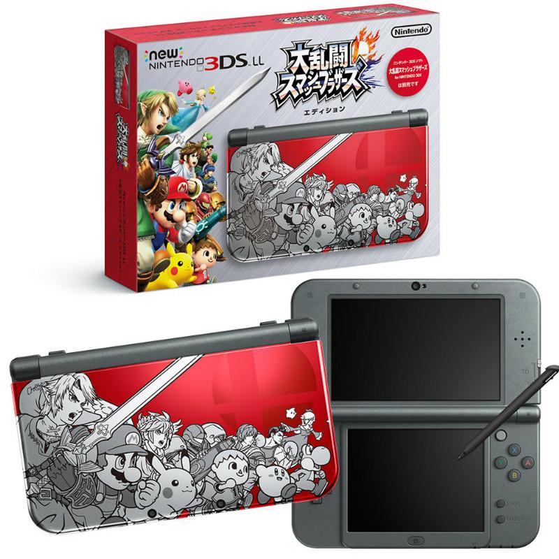【中古】[本体][3DS]Newニンテンドー3DS LL 大乱闘スマッシュブラザーズ エディション(20141108)