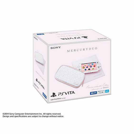 【中古】[本体][PSVita]PlayStation Vita MERCURYDUO(マーキュリーデュオ) Premium Limited Edition(PCHJ-10020)(20141113)