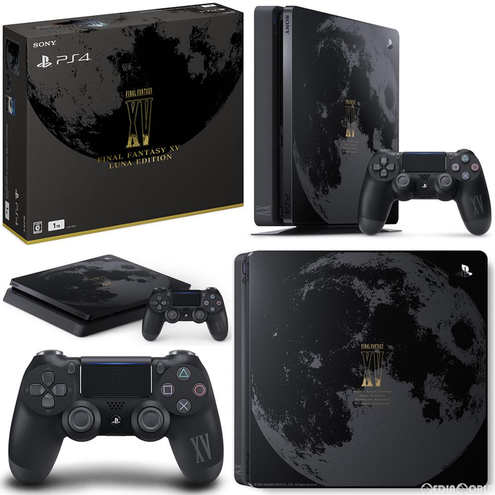 【中古】[本体][PS4]PlayStation4 FINAL FANTASY XV LUNA EDITION(プレイステーション4 ファイナルファンタジー15 ルーナエディション)(CUHJ-10013)(20161129)