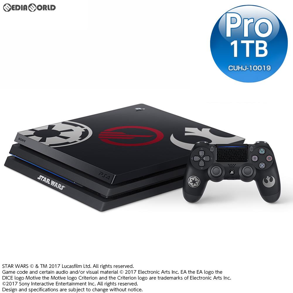 【中古】[本体][PS4]プレイステーション4 プロ PlayStation4 Pro Star Wars Battlefront II(スター・ウォーズ バトルフロント 2) Limited Edition(CUHJ-10019)(20171114)