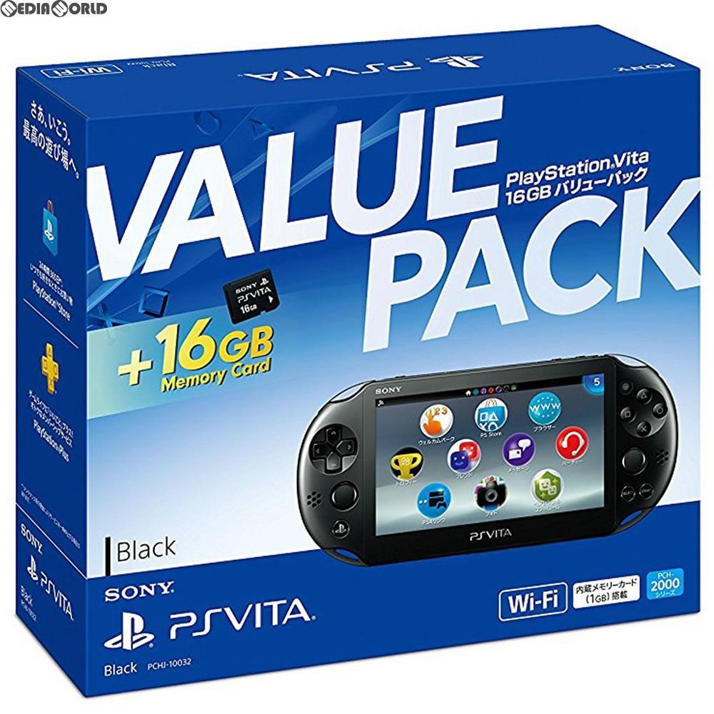 [the body] [PSVita]PlayStation Vita 16GB value pack Wi-Fi model black  (PCHJ-10032)(20171122)