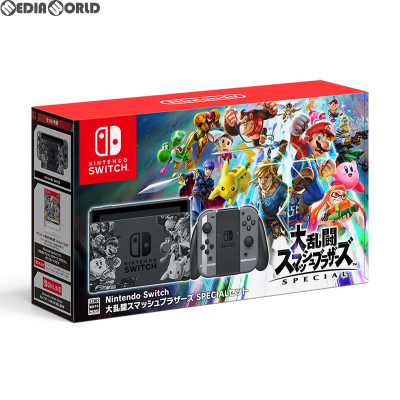 【中古】[本体][Switch](ソフト無し)Nintendo Switch(ニンテンドースイッチ) 大乱闘スマッシュブラザーズ SPECIALセット(スペシャルセット)(HAC-S-KAELJ)(20181116)