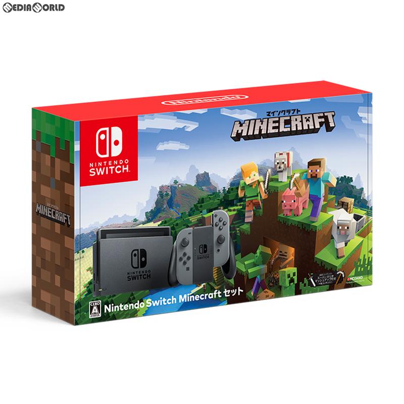 【予約前日発送】[本体][Switch]Nintendo Switch Minecraftセット(ニンテンドースイッチ マインクラフトセット)(HAC-S-KAAGE)(20181130)