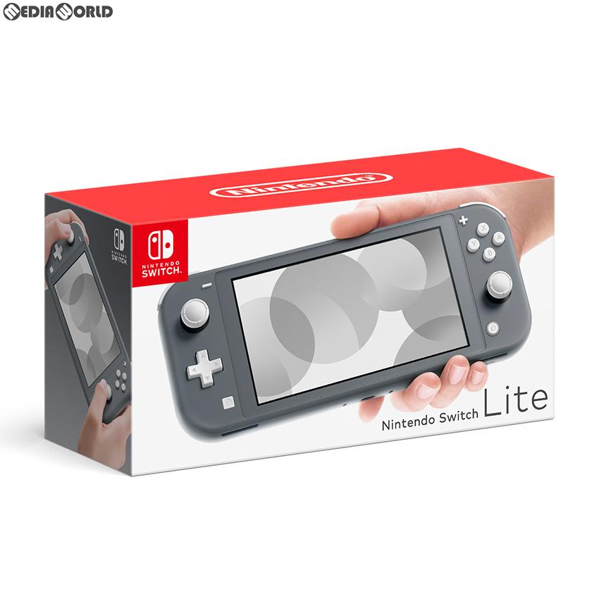 【中古】[本体][Switch]Nintendo Switch Lite(ニンテンドースイッチライト) グレー(HDH-S-GAZAA)(20190920)