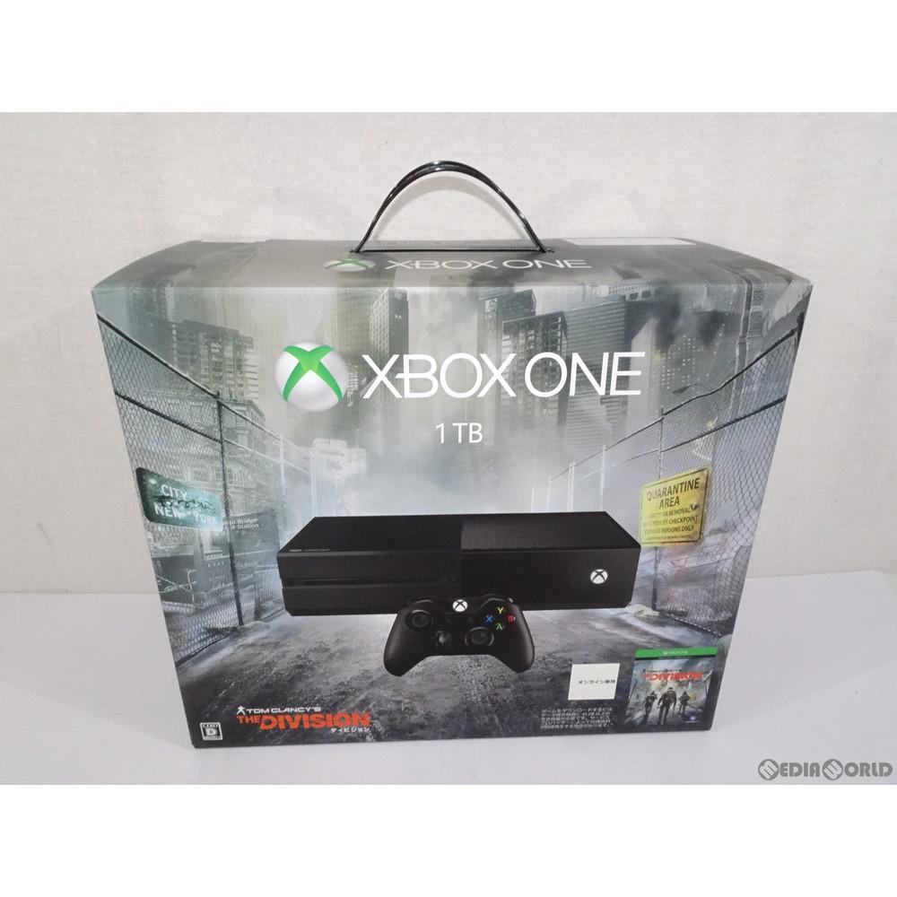 【中古】[本体][XboxOne](本体単品)Xbox One 1TB(ディビジョン同梱版)(KF7-00140)(20160303)
