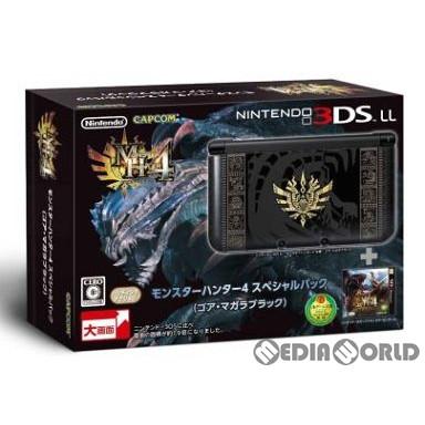 【中古】[本体][3DS]モンスターハンター4 スペシャルパック (ゴア・マガラブラック)(SPR-S-KNCD)(3DSLL本体同梱版)(20130914)