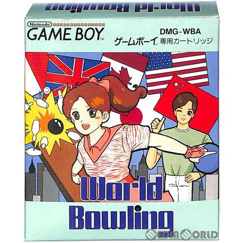 【中古】【箱説明書なし】[GB]ワールドボウリング(World Bowling)(19900113)
