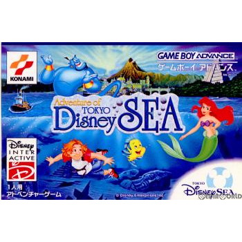 [GBA]Adventure of Tokyo Disney SEA(冒險of東京迪斯尼海洋)(20011122)