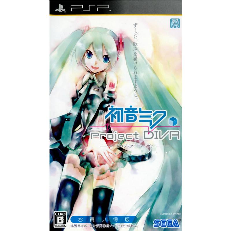 [PSP] (ULJM-05682)(20100624) for Hatsune Miku -Project DIVA- bargain