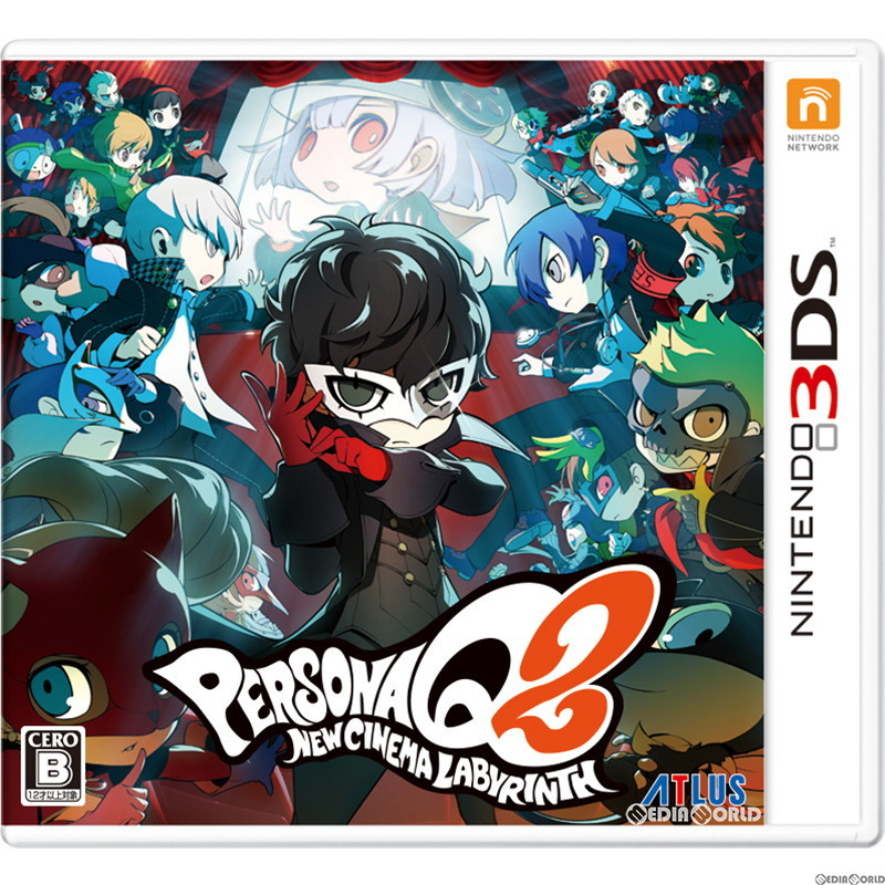 Media World: Persona Q2 New Cinema labyrinth (20181129) with [3DS