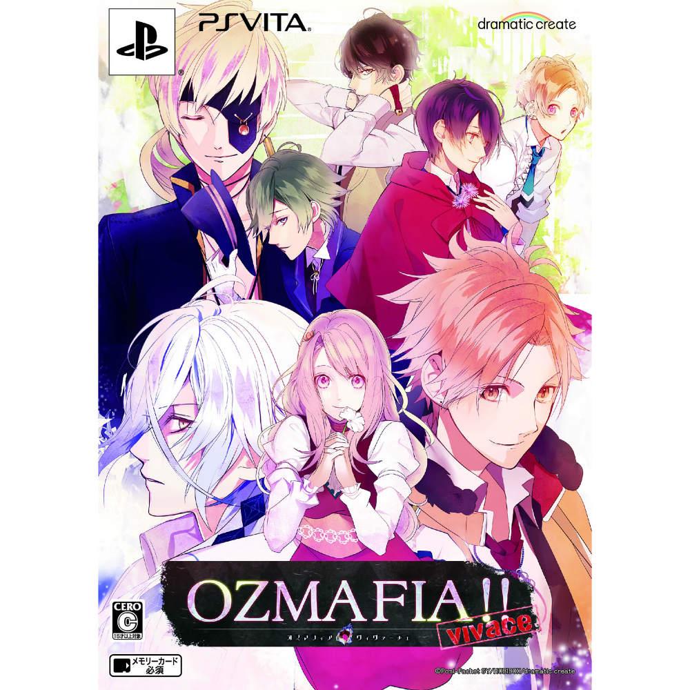 [PSVita]OZMAFIA!!-vivace-(ozumafia!)-vivachie-)限定版(20150226)
