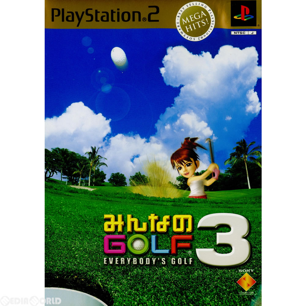 It is GOLF3 (golf 3) MEGA HITS!(SCPS-72002)(20020718) of all [PS2] [there  is no cover manual]