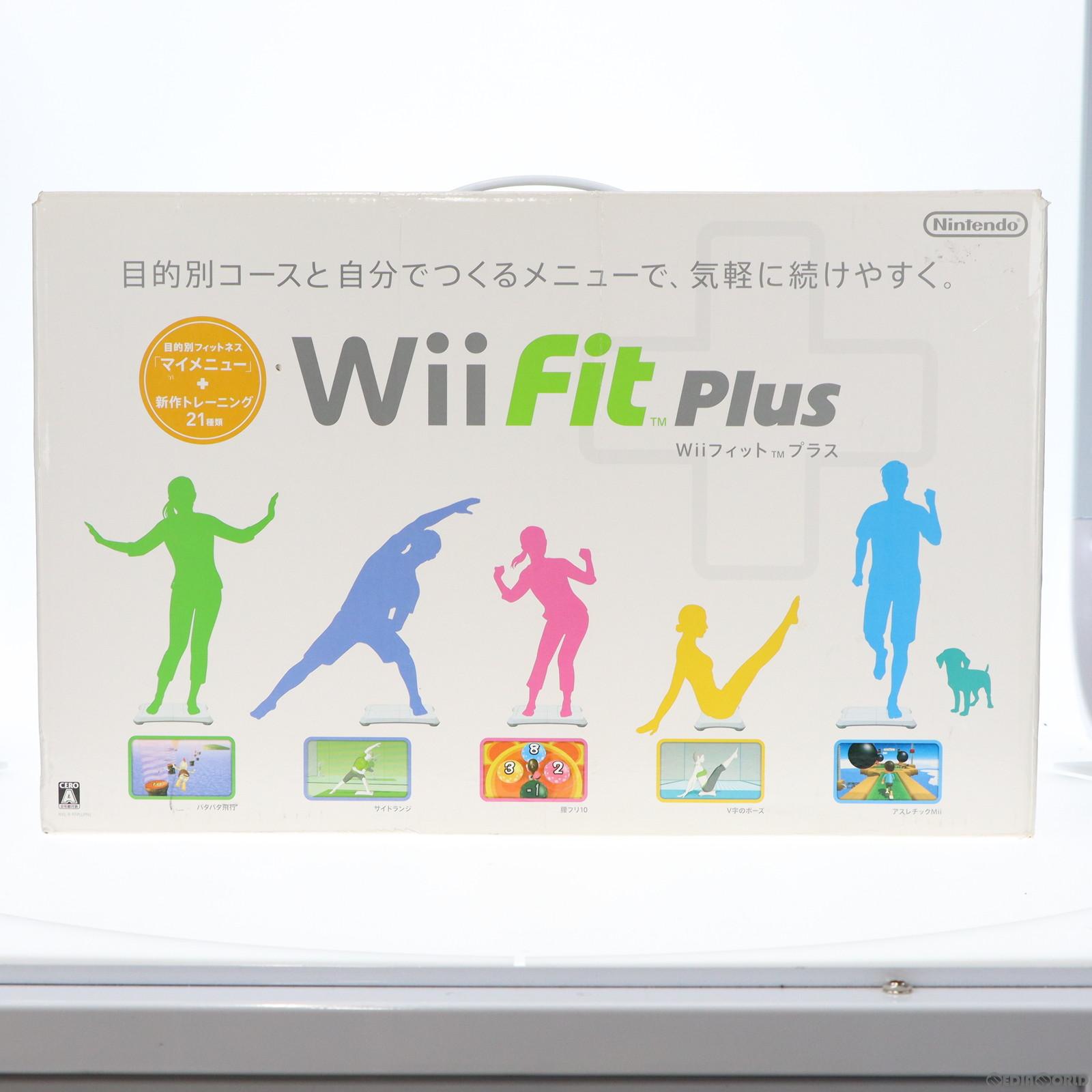 【楽天市場】【中古】【表紙説明書なし】 Wii Wii Fit Plus Wiiフィットプラス バランスwii