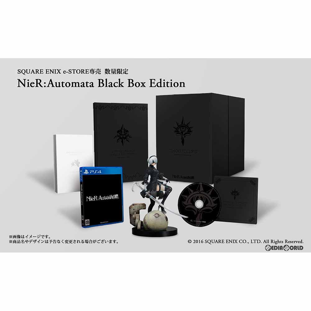 【中古】[PS4]e-STORE限定 NieR:Automata Black Box Edition(ニーア オートマタ ブラックボックス エディション)(限定版)(20170223)