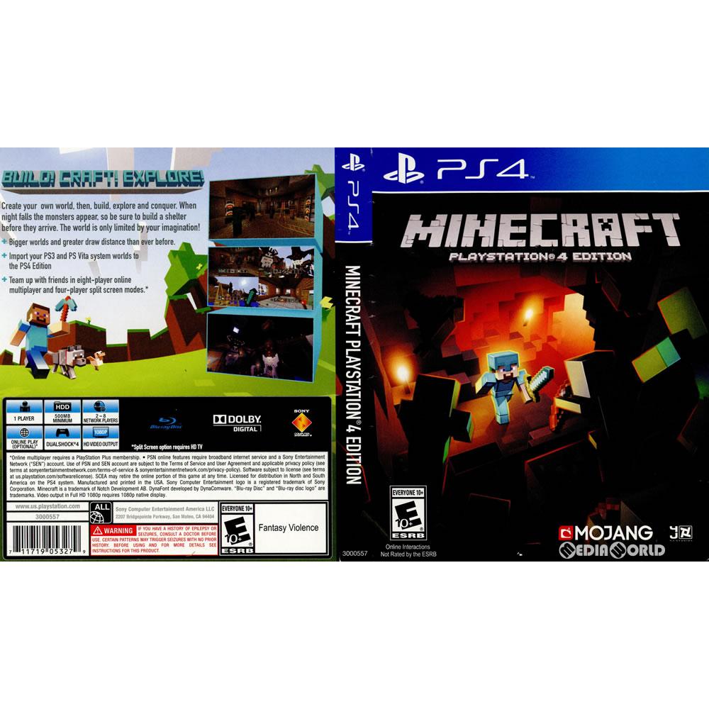 [PS4]Minecraft: PlayStation 4 Edition (mine craft Play Station 4 edition)  (edition in North America) (3000557)(20141007)