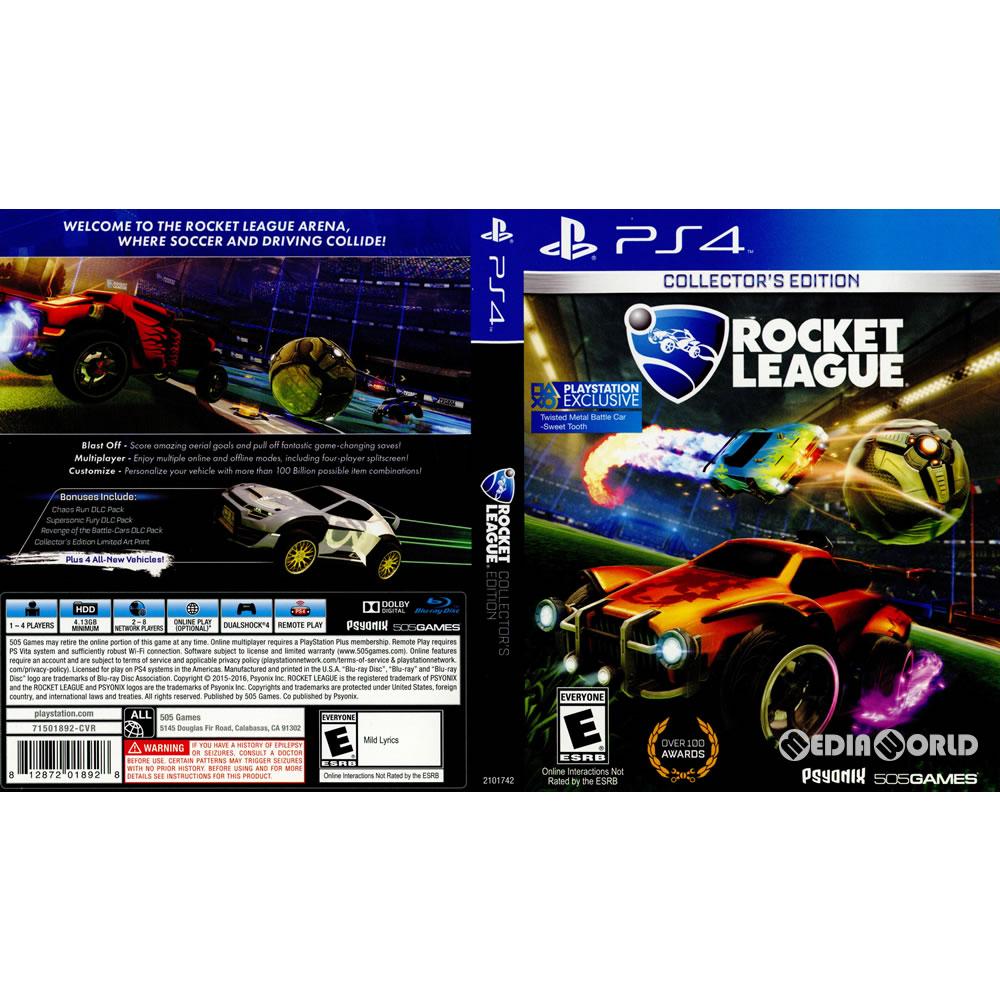 [PS4]Rocket League Collector's Edition (rocket league collectors edition)  (edition in North America) (2101742)(20160705)
