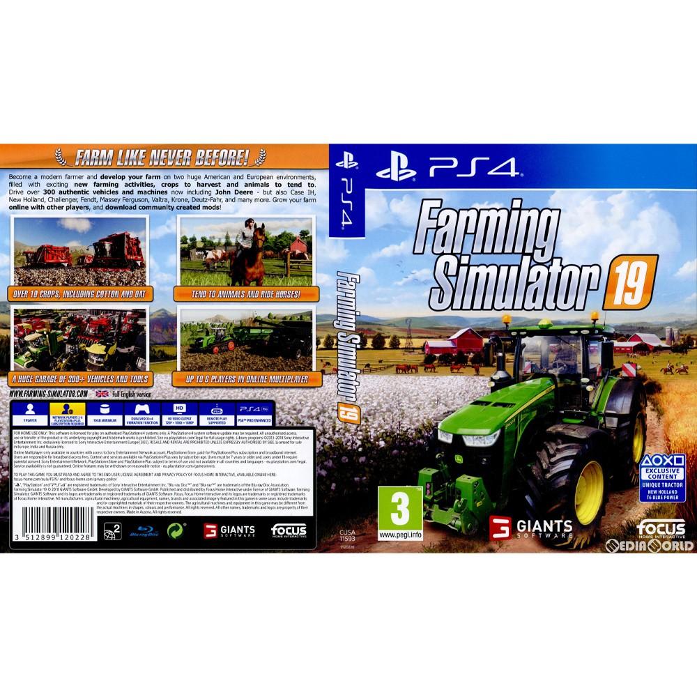 [PS4]Farming Simulator 19 (farming simulator 19) (EU version)  (CUSA-11593)(20181120)