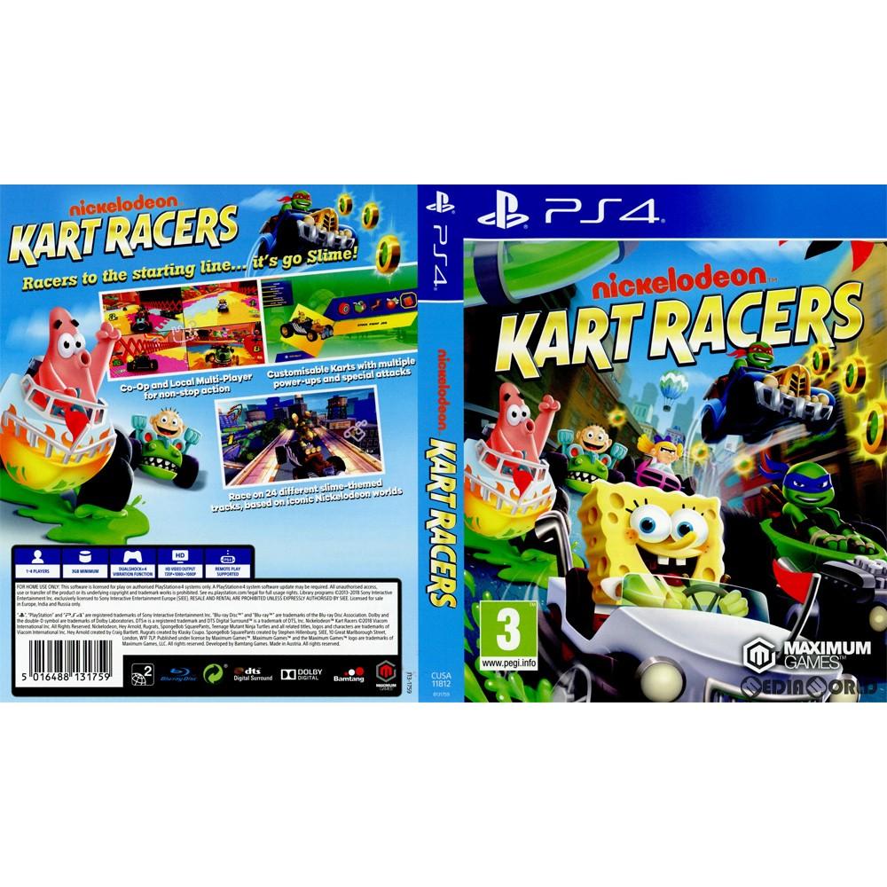 [PS4]Nickelodeon Kart Racers (Niccolo Deon cart racers) (EU version)  (CUSA-11812)(20181026)