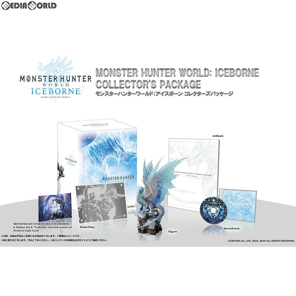 【予約前日発送】[PS4]モンスターハンターワールド:アイスボーン(MONSTER HUNTER WORLD: ICEBORNE/MHW:I) コレクターズパッケージ(限定版)(20190906)