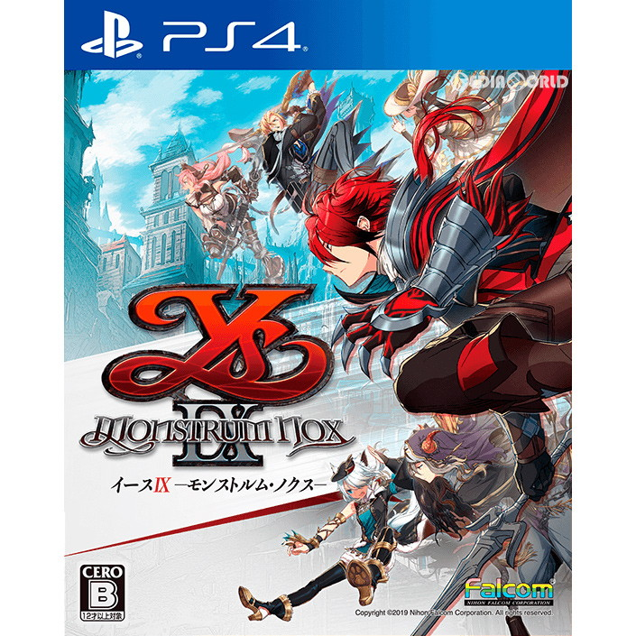 PS4 Ys IX Monstrum NOX Japan import NEW Playstation 4