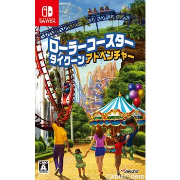 【新品】【お取り寄せ】[Switch]ローラーコースタータイクーン・アドベンチャー(Rollercoaster Tycoon Adventures)(20190516)