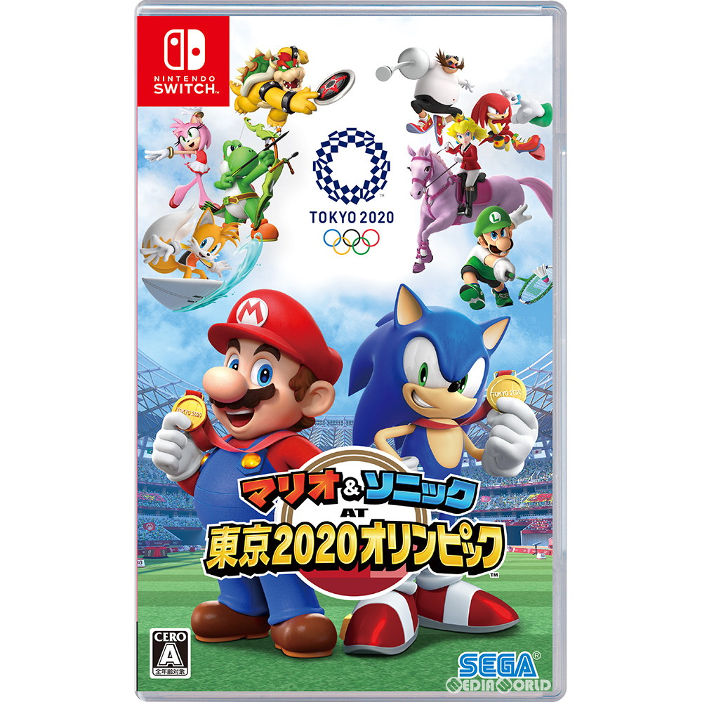 Nintendo Switch 2020 Games.Switch Mario Sonic At Tokyo 2020 Olympics Tm 20191101