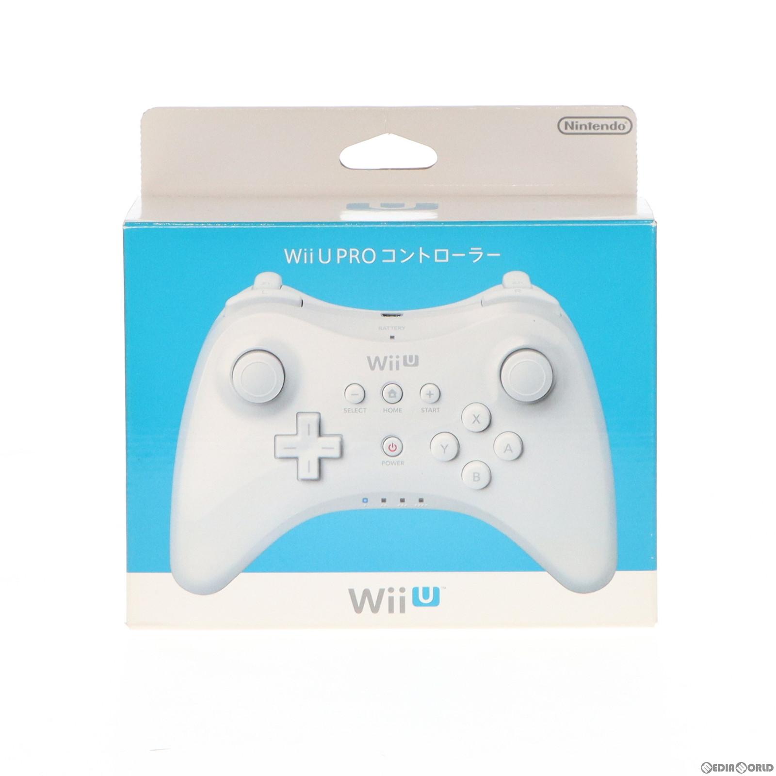WiiU用 PROコントローラー シロ shiro