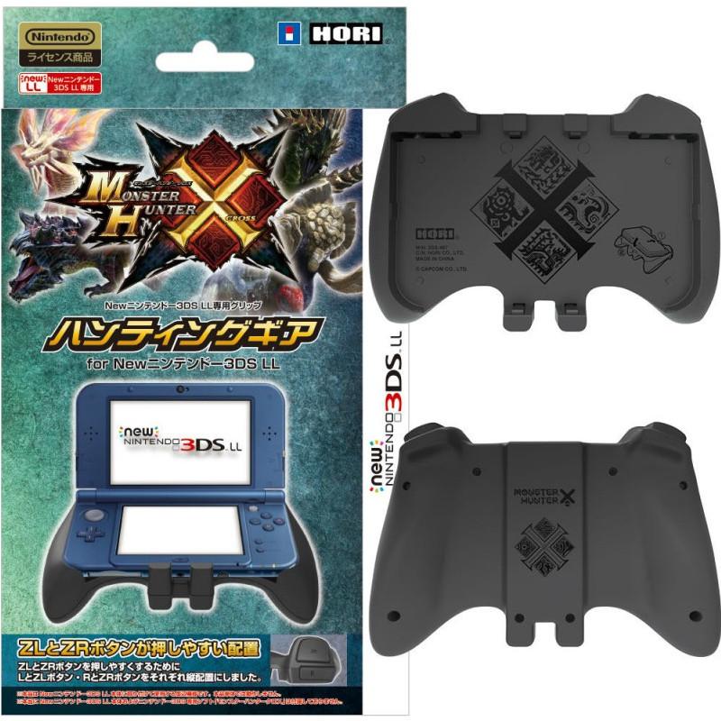 [选择] 怪物猎人交叉狩猎齿轮为新任天堂 3 DS LL HORI (3 DS-467) (20151128)