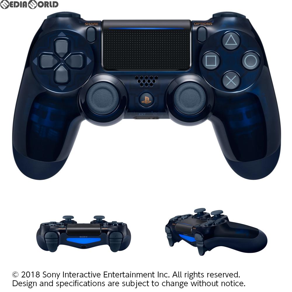 【新品即納】[ACC][PS4]ワイヤレスコントローラー デュアルショック4(DUALSHOCK4) 500 Million Limited Edition(500ミリオンリミテッドエディション) SIE(CUH-ZCT2J50)(20180906)