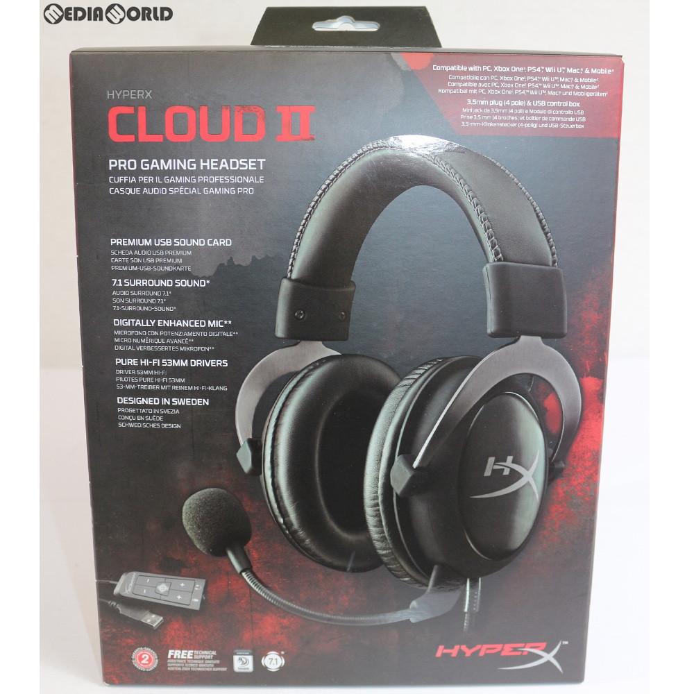 GUNMETAL KHX-HSCP-GM HyperX Cloud II Gaming Headset 7.1 Virtual PC//PS4//XBOX