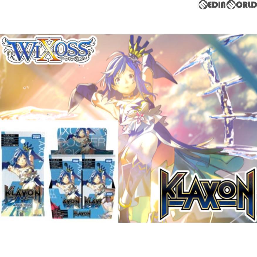 【新品即納】[カートン][TCG]ウィクロスTCG 新拡張パック第1弾 ブースターパック KLAXON(クラクション)(WXK-P01)(12BOX)(20180426)