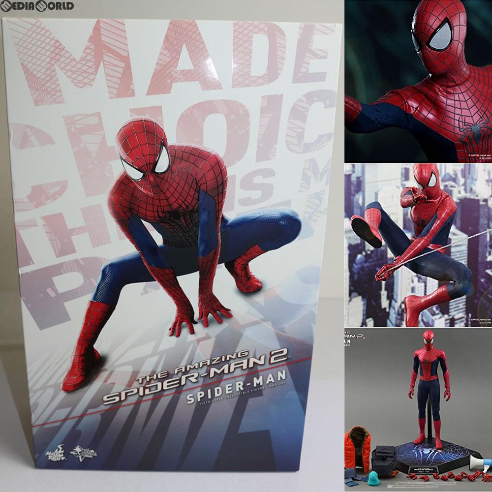 【中古】[FIG]ムービー・マスターピース スパイダーマン アメイジング・スパイダーマン2 完成品 フィギュア ホットトイズ(20141123)