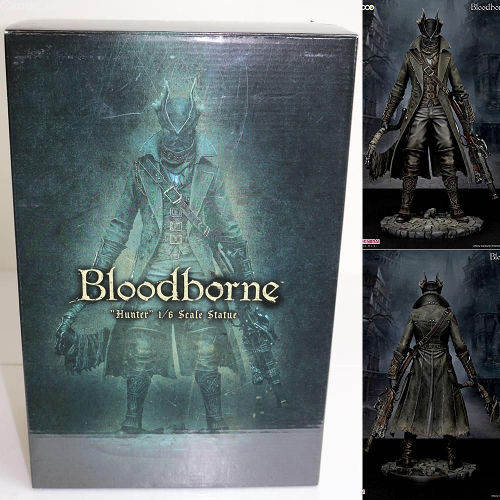 【中古】[FIG]Bloodborne/ 狩人(ハンター) ブラッドボーン 1/6スケール・スタチュー フィギュア Gecco(ゲッコウ)(20151230)