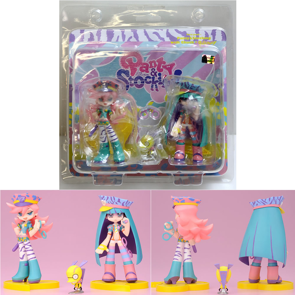 [FIG] Twin Pack + panty & stocking with Chuck d. galaxxxy Panty Stocking with Garterbelt figure Phat! (Phat) (20120331)