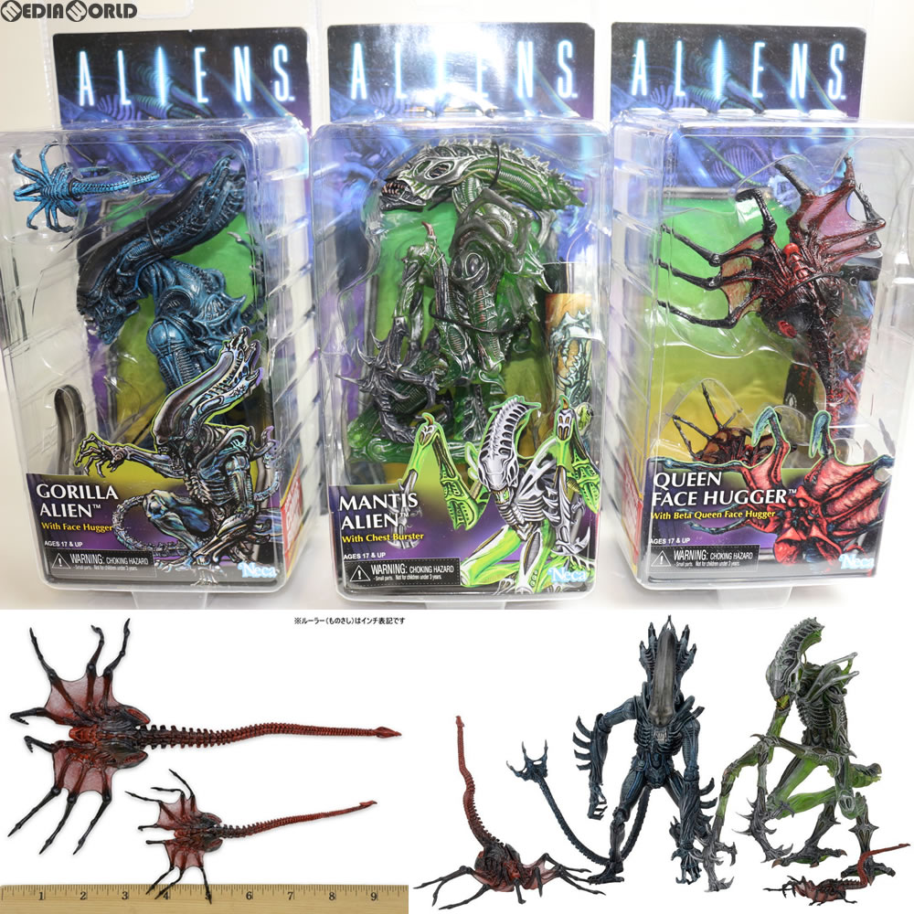 """Aliens Series 10 Queen Face Hugger w// Beta 7/"""" Action Figure Collection Doll"""