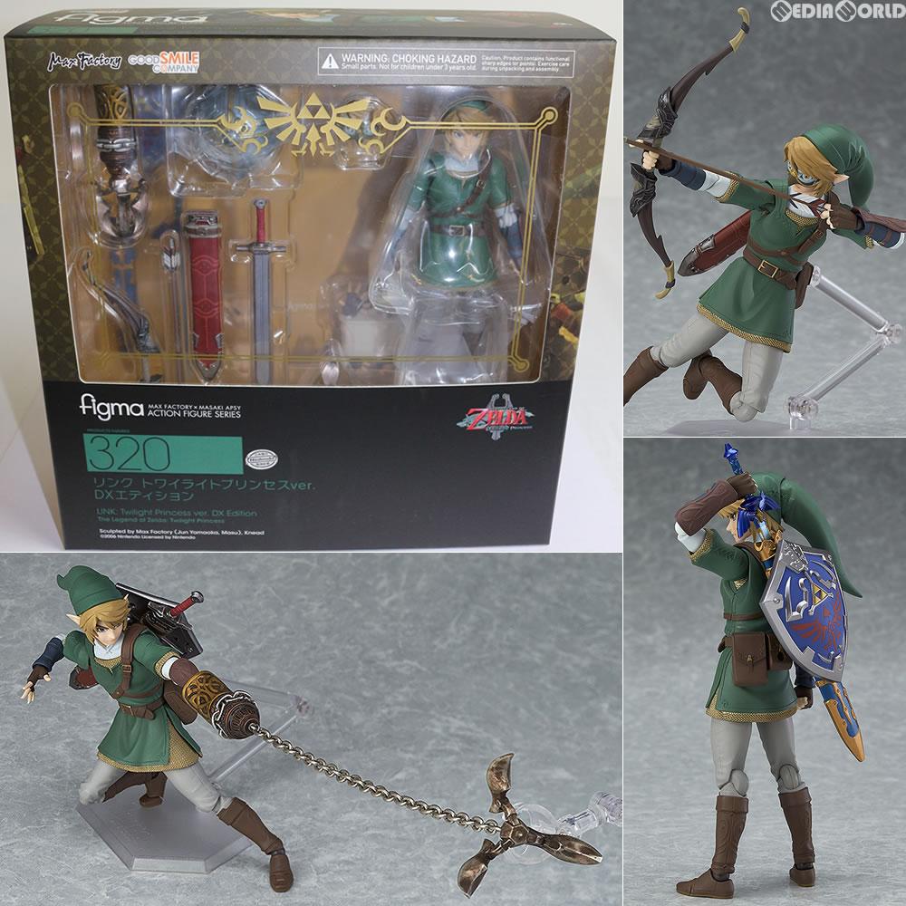 Figma 320 The Legend of Zelda LINK Twilight Princess Ver DX Edition Figure New