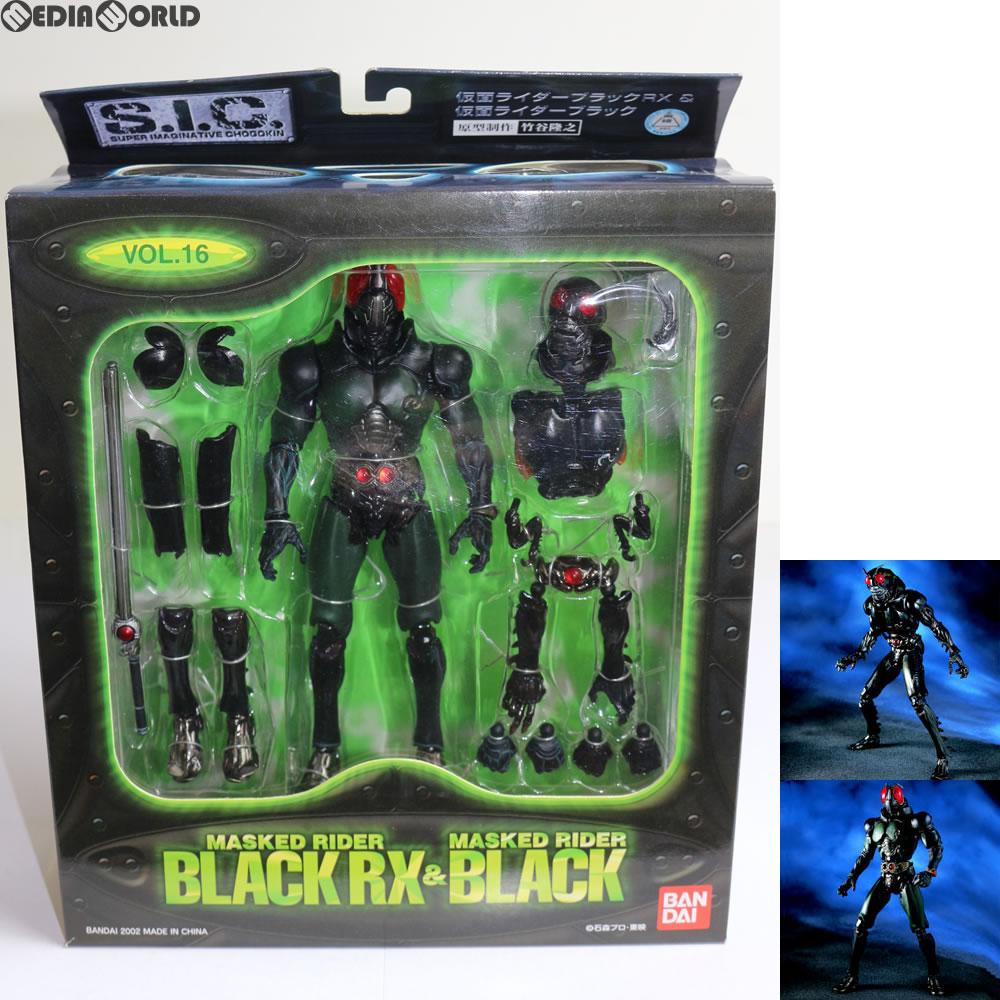 [FIG] S I C  VOL 16 Kamen Rider black RX& Kamen Rider black Kamen Rider  BLACK RX finished product figure skating BANDAI (20021024)