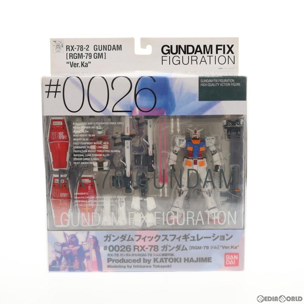 【中古】[未開封][FIG]GUNDAM FIX FIGURATION #0026 RX-78 ガンダム[RGM-79 ジム] Ver.Ka 機動戦士ガンダム 完成品 可動フィギュア バンダイ(20050801)