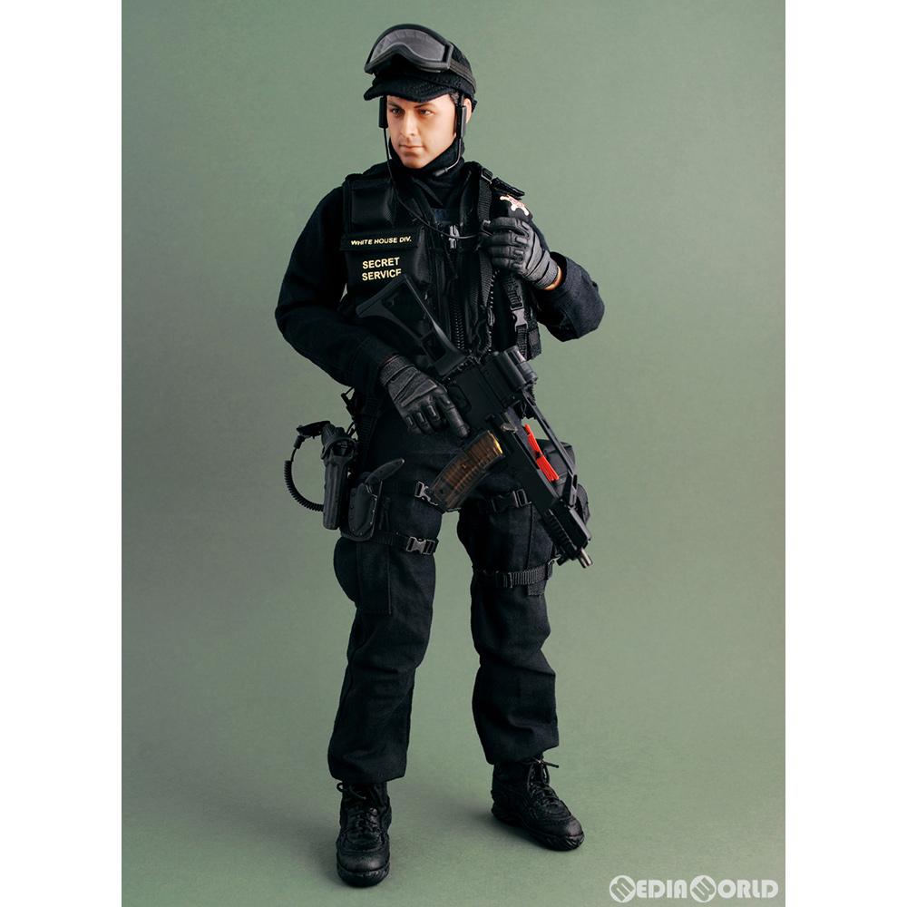【中古】[FIG]ホットトイズ・ミリタリー アメリカ合衆国 シークレットサービス 緊急対応部隊 男性隊員(G36Cライフル付属) 1/6 完成品 可動フィギュア(M/SF/081035) ホットトイズ(20090131)