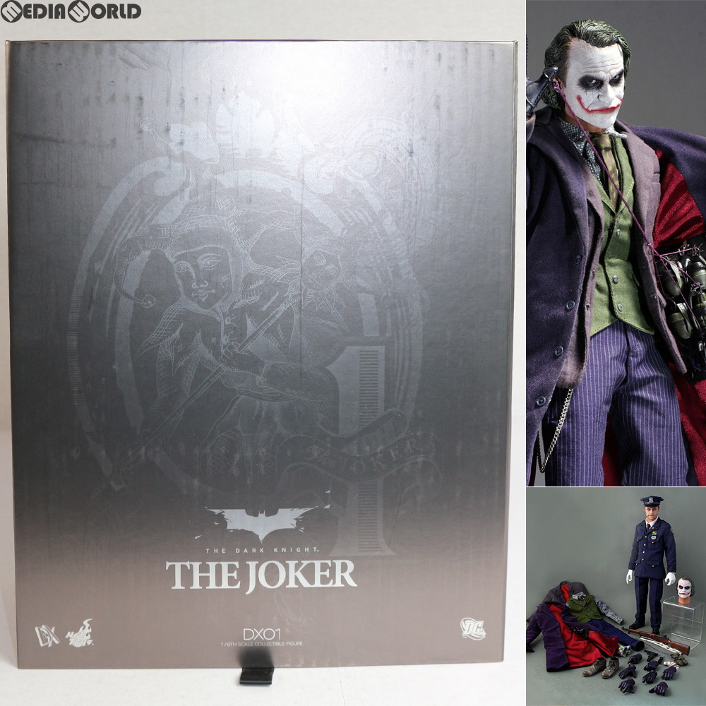 Media World Fig Movie Masterpiece Dx Joker Dark Knight 1 6