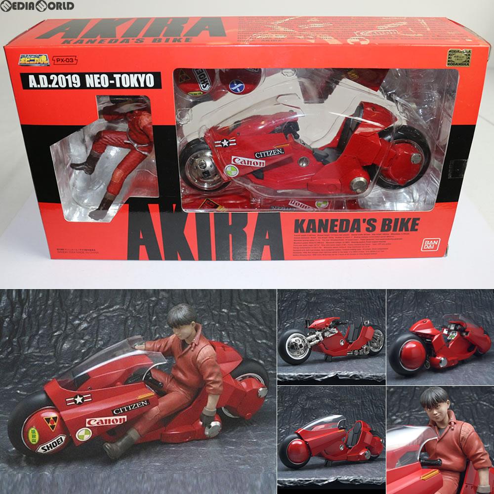 【中古】【箱難あり】[FIG]ポピニカ魂 PX-03 金田のバイク AKIRA(アキラ) 完成品 フィギュア バンダイ(20040601)