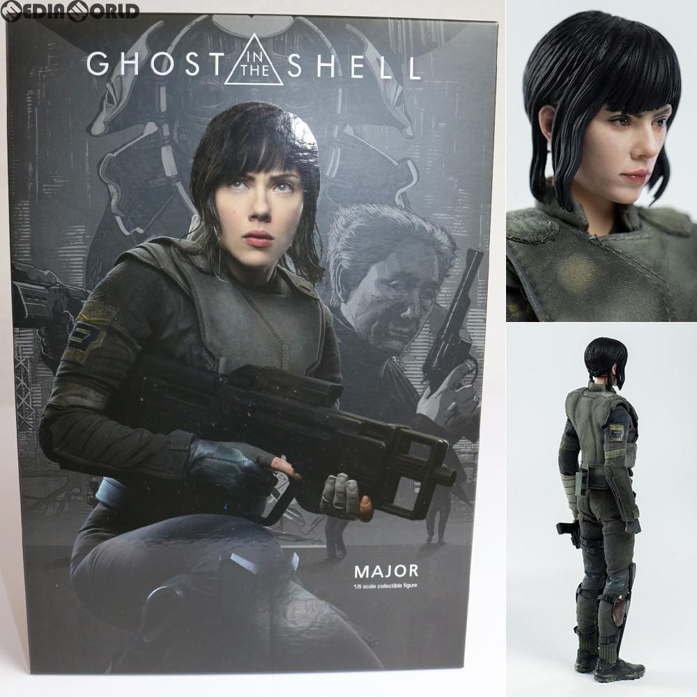 【中古】[FIG]Major(少佐) Ghost in the Shell(ゴースト・イン・ザ・シェル) 1/6 完成品 フィギュア threezero(スリーゼロ)(20180713)