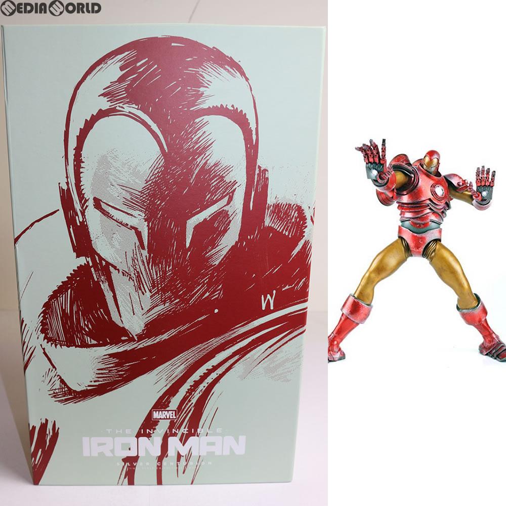 【中古】[FIG]Iron Man Silver Centurion(アイアンマン シルバーセンチュリオン) 1/6 完成品 フィギュア(海外流通版) threeA(スリーエー)(20141206)