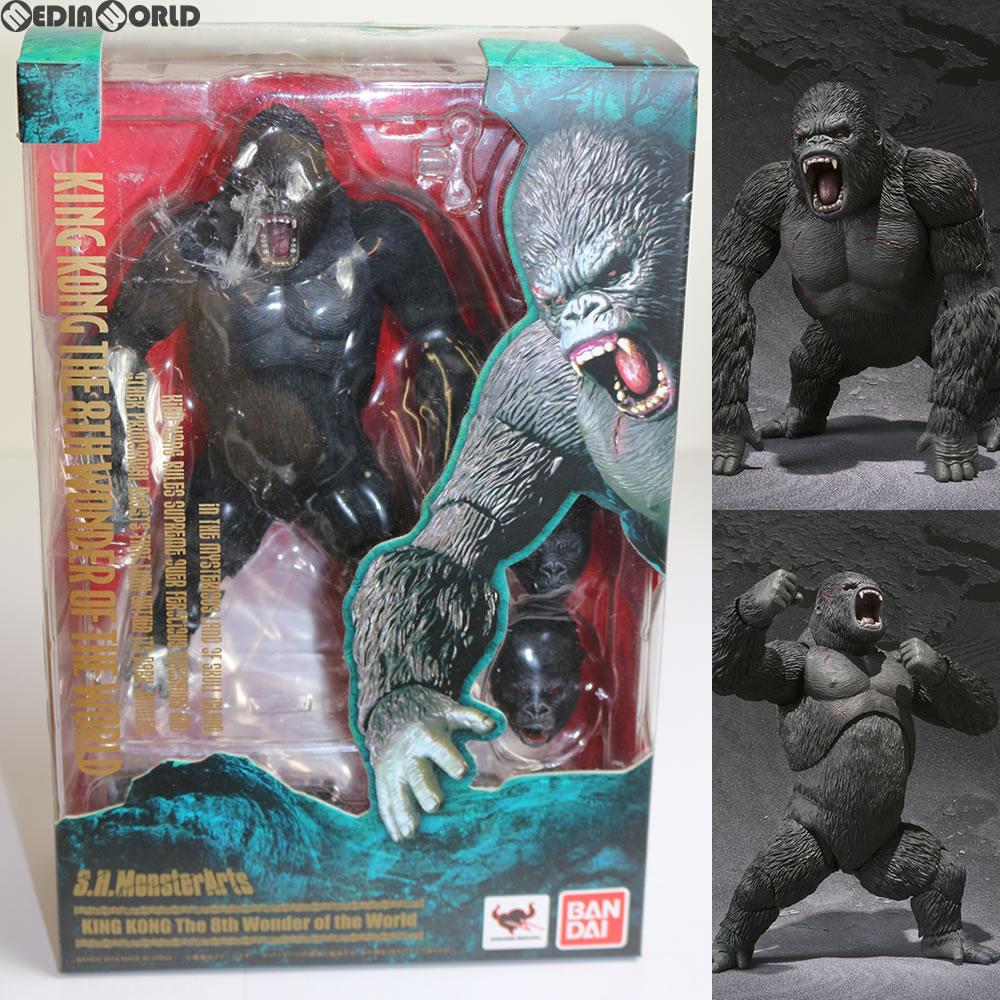 【中古】[FIG]S.H.MonsterArts(モンスターアーツ) KING KONG(キング・コング) The 8th Wonder of the World 完成品 フィギュア バンダイ(20130427)
